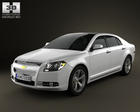 Chevrolet Malibu 2012 3D Model