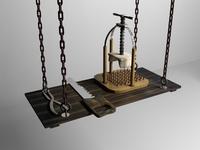 Torture tools 3D Model