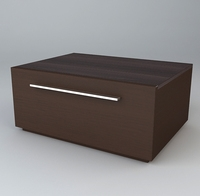 Storage Chest 3D Model