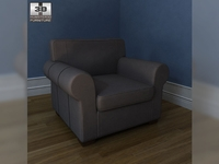 IKEA EKTORP armchair 3D Model