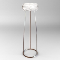 Glass Bead Floor Lamp 3D Model