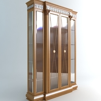 Display Case Vitrine 3D Model