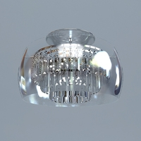 Pendant Contemporary Chandelier 3D Model