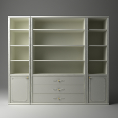 Display & Storage Cabinet 3D Model