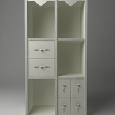 Display Case Cabinet 3D Model