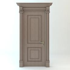 Wooden Door 3D Model