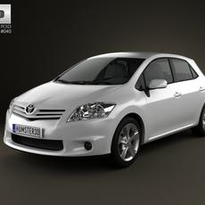 Toyots Auris 2012 3D Model