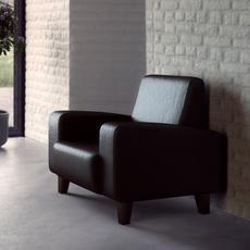 Custom sofa 02 3D Model