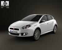 Fiat Bravo 2011 3D Model