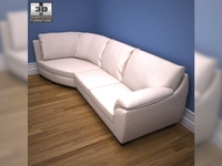 IKEA VRETA corner sofa 3D Model
