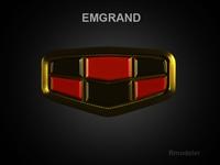 Emgrand 3d Logo 3D Model