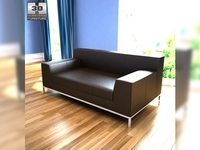 IKEA KRAMFORS two-seat sofa 3D Model