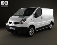 Renault Trafic PanelVan ShortWheelbase StandardRoof 3D Model