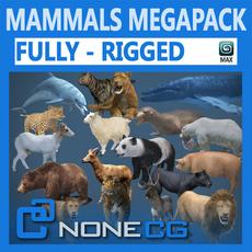 Pack - Mammals 3D Model