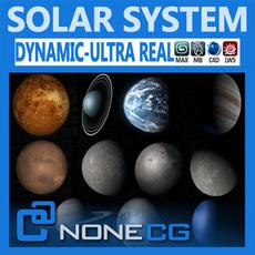 Pack - Hyperreal Solar System 3D Model
