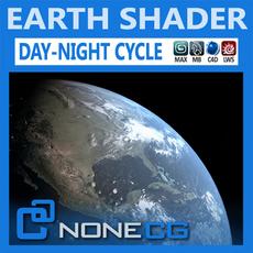 Hyperreal Earth 3D Model