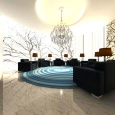 Antechamber Spaces 012 3D Model