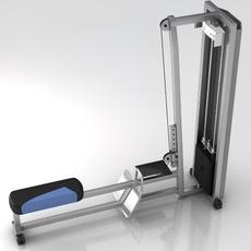 Fitness Gym Equipment 001 3D Model