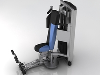 Fitness Gym Equipment 003 3D Model