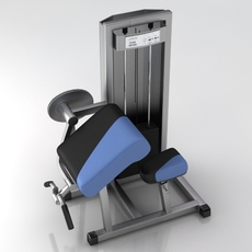 Fitness Gym Equipment 004 3D Model