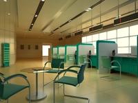 Bank space 003 3D Model