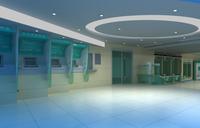 Bank space 004 3D Model