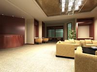 Bank space 006 3D Model