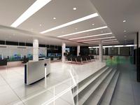 Bank space 008 3D Model