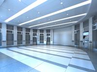 Bank space 009 3D Model