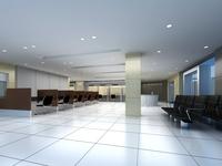Bank space 011 3D Model