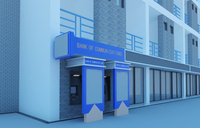 Bank space 013 3D Model