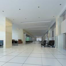 Bank space 014 3D Model