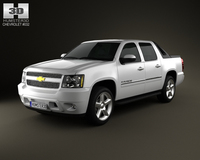 Chevrolet Avalanche 2011 3D Model