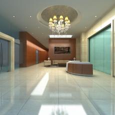 Bank space 015 3D Model