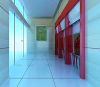 Bank space 016 3D Model