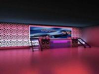 Bar space 019 3D Model