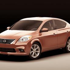 Nissan Sunny Versa 3D Model