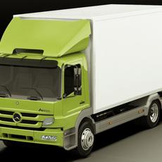 Mercedes Atego 2011 3D Model