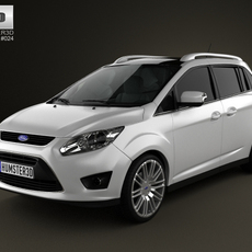 Ford Grand C-max 2011 3D Model