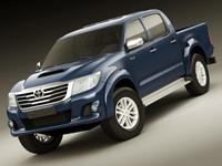 Toyota Hilux 2012 Double Cab 3D Model