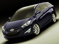 Hyundai i40 Wagon 2012 3D Model