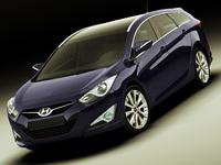 Hyundai i40 Wagon 2012 3D Model