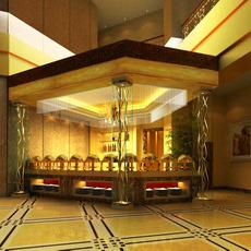 Bar space 073 3D Model