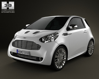 Aston Martin Cygnet 2012 3D Model