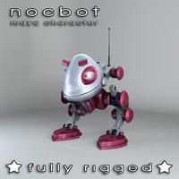 Nocbot - Maya Character Rig 1.1.0 for Maya