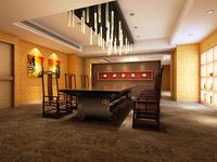 Bar space 106 3D Model