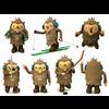 Free Olympic mascot Quatchi 3D Model
