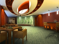Bar space 107 3D Model