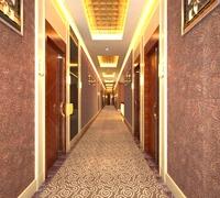 Corridor Spaces 002 3D Model