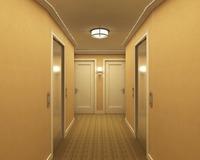 Corridor Spaces 005 3D Model